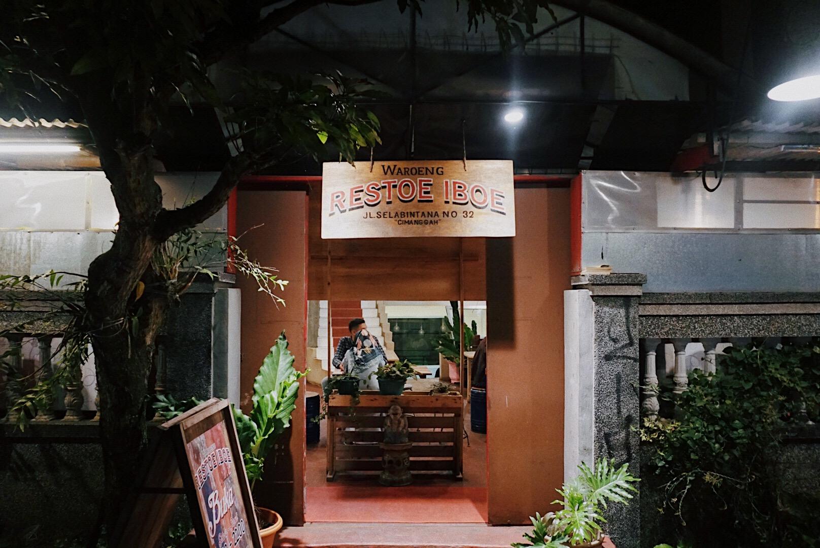 Mesin Waktu bernama Waroeng Restoe Iboe