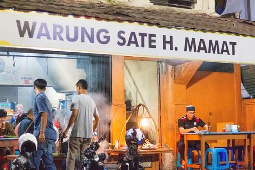 """Sate """"Presiden"""" di Sukabumi"""