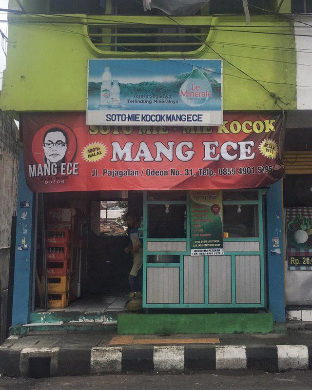 Mie Kocok Mang Ece Odeon