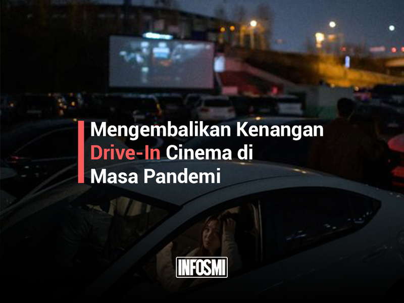 Large drive in cinema cover